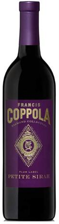 Francis Ford Coppola Diamond Collection Petite Sirah Plum Label